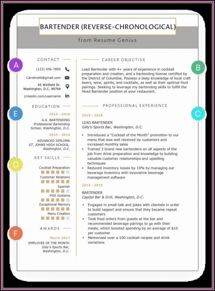 Carpenter Cv Template Uk