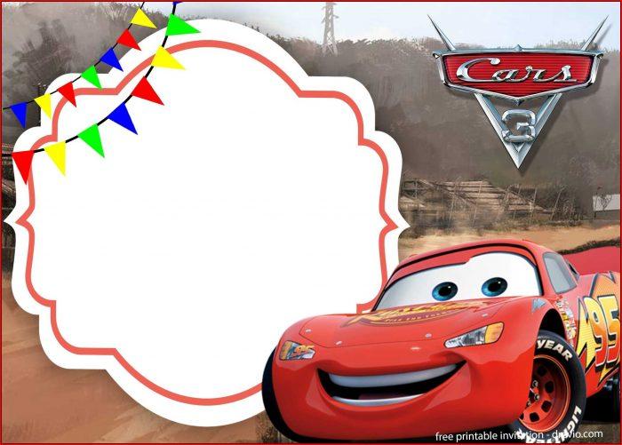 Cars Invitation Template Download