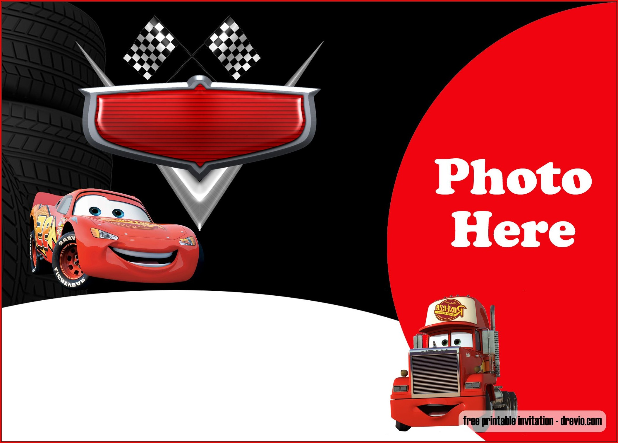 Cars Invitation Templates Free Download