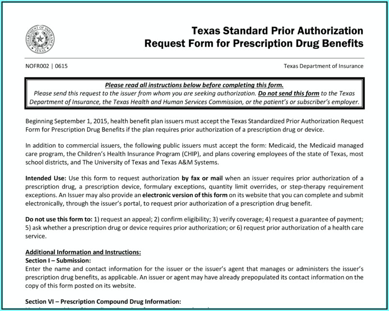 Child Care Authorization Form Texas