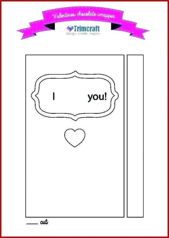 Chocolate Bar Wrapper Template Ks2