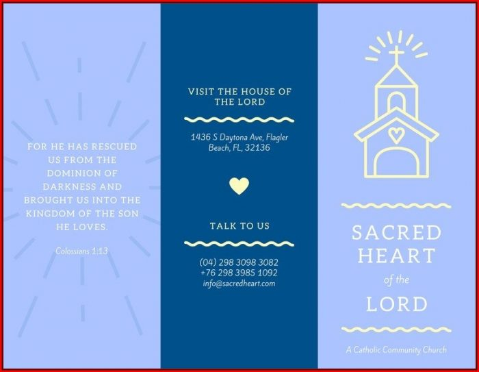 Church Brochure Templates