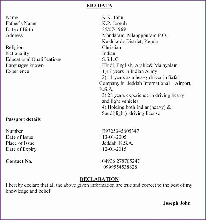 College Application Resume Template Free