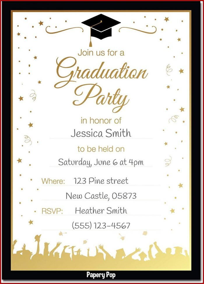 College Graduation Invitation Maker
