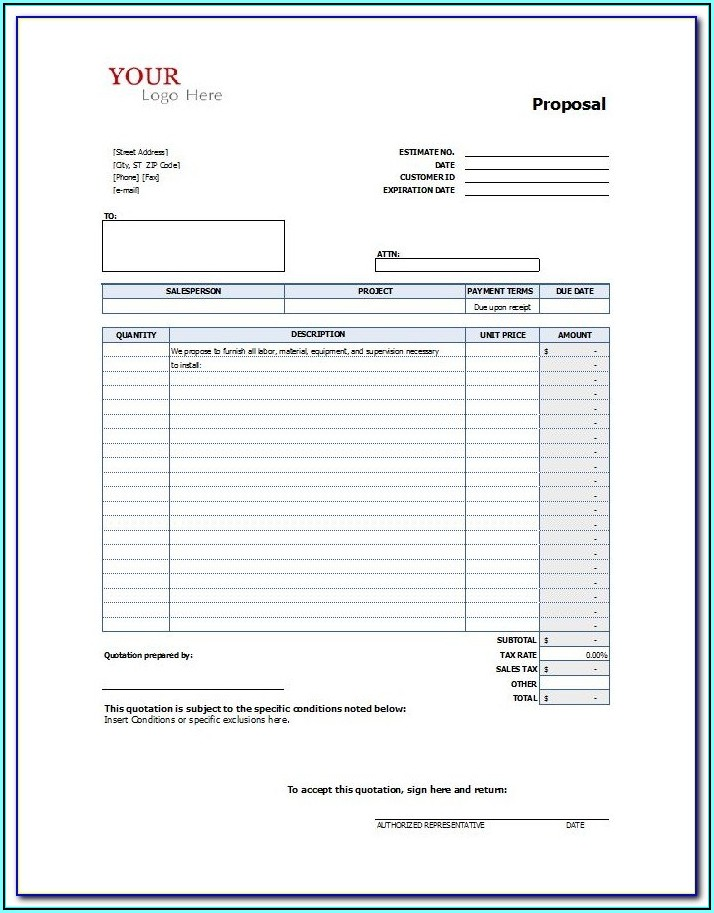 Construction Project Management Forms Free Download