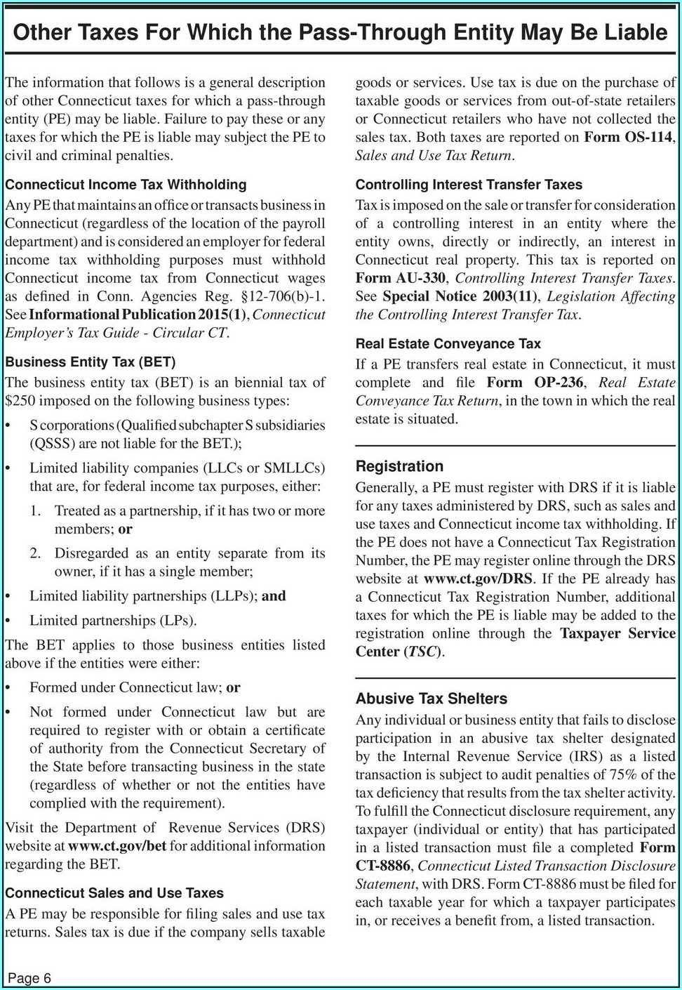 Ct Sales And Use Tax Form Os 114 Instructions