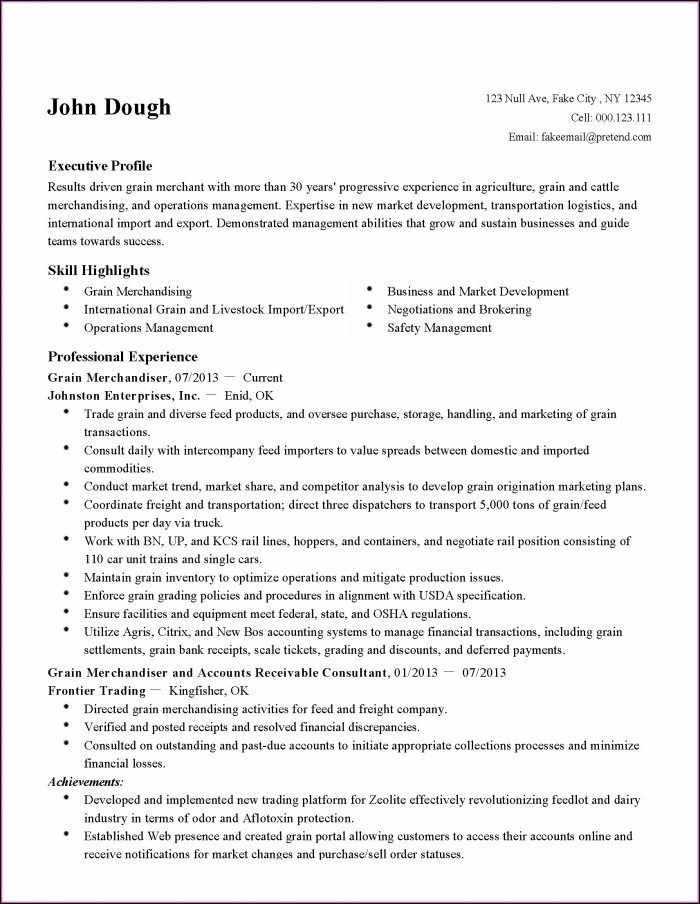 Customer Service Dispatcher Resume Sample