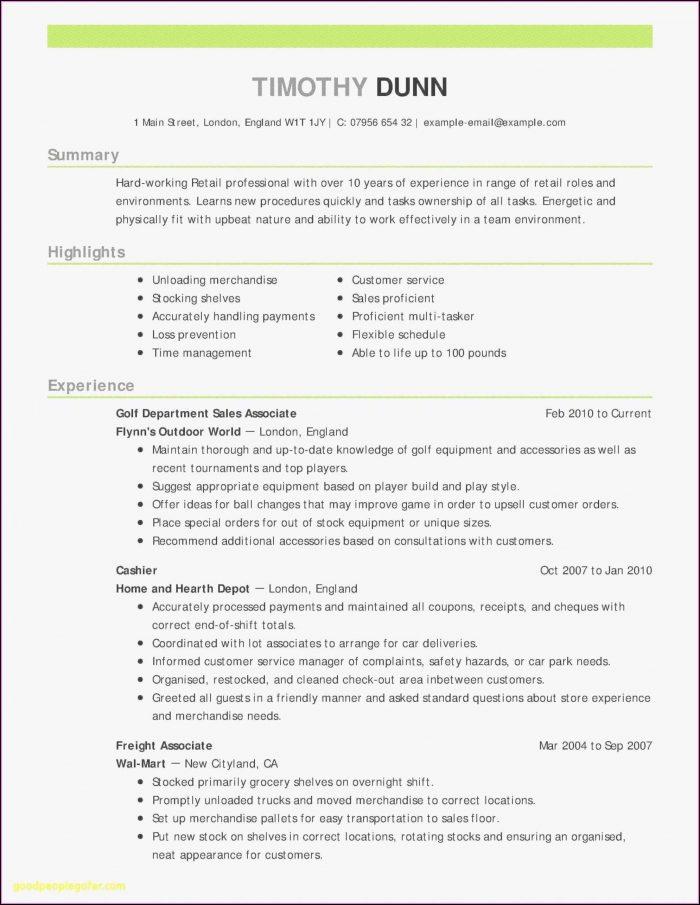 Easy Resume Samples Download
