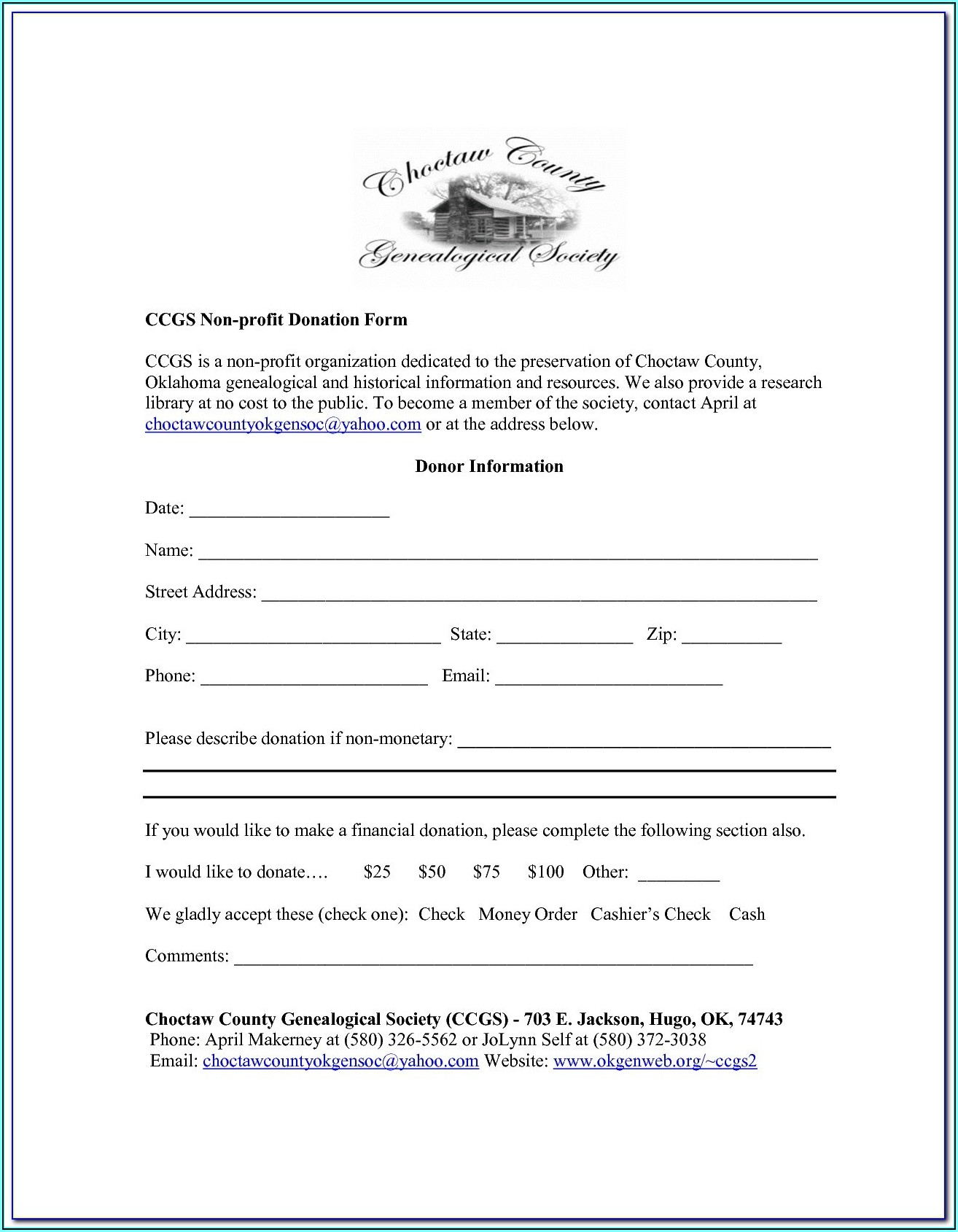 Editable Pdf Forms Sample