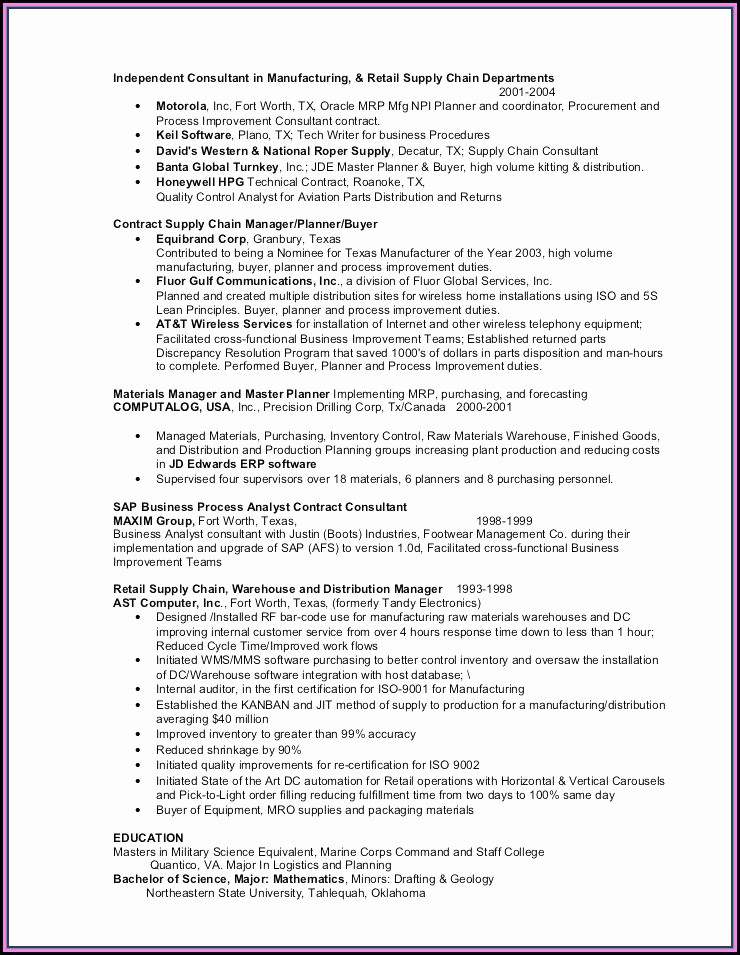 Examples Of Nurse Manager Resumes