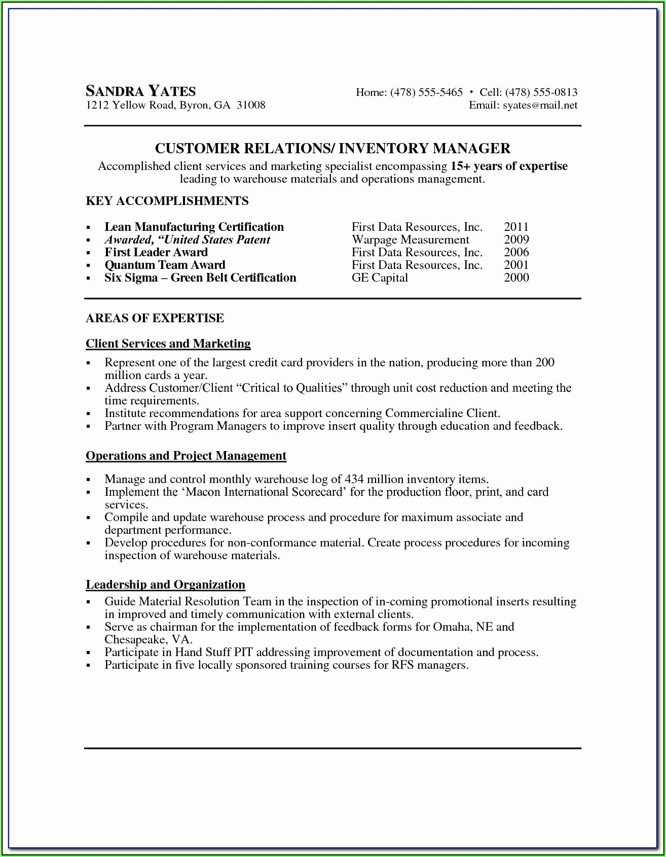 Executive Resume Distribution Service