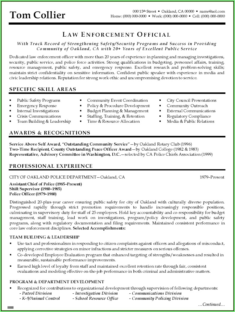 Filling Out Job Application Resume