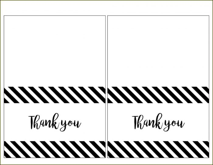 Free Printable Photo Thank You Card Templates
