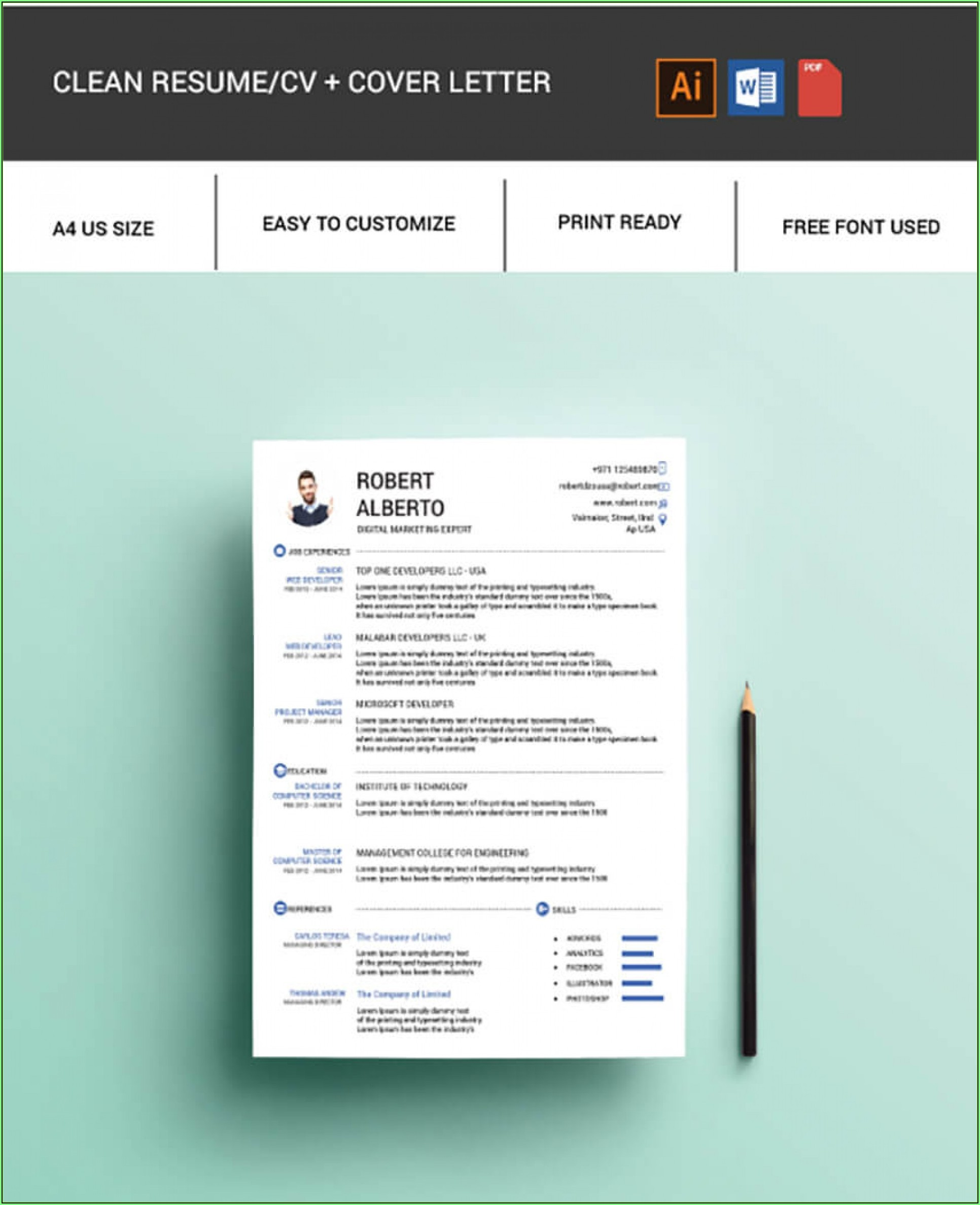 Free Quick Easy Resume Templates