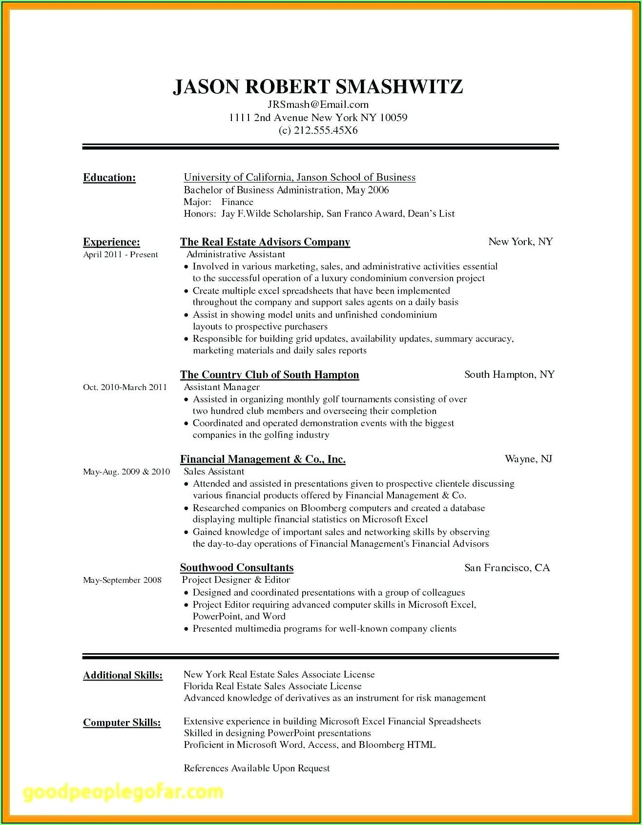 Free Resume Builder Download