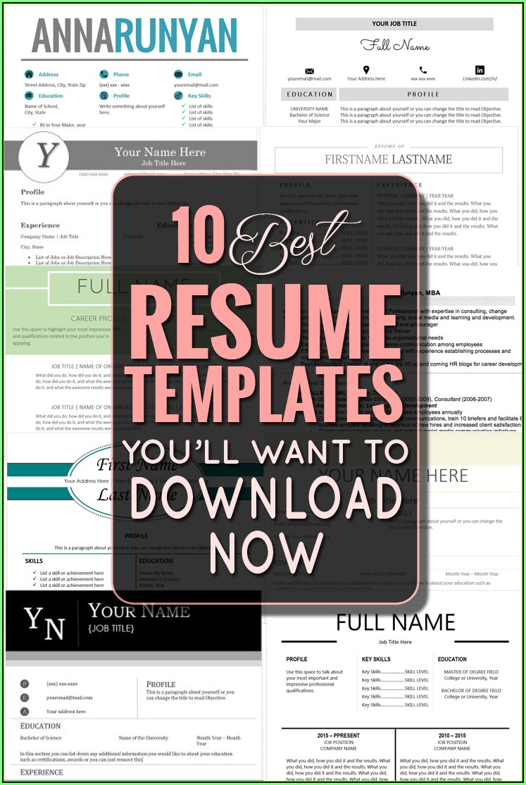 Free Resume Builder For Macbook