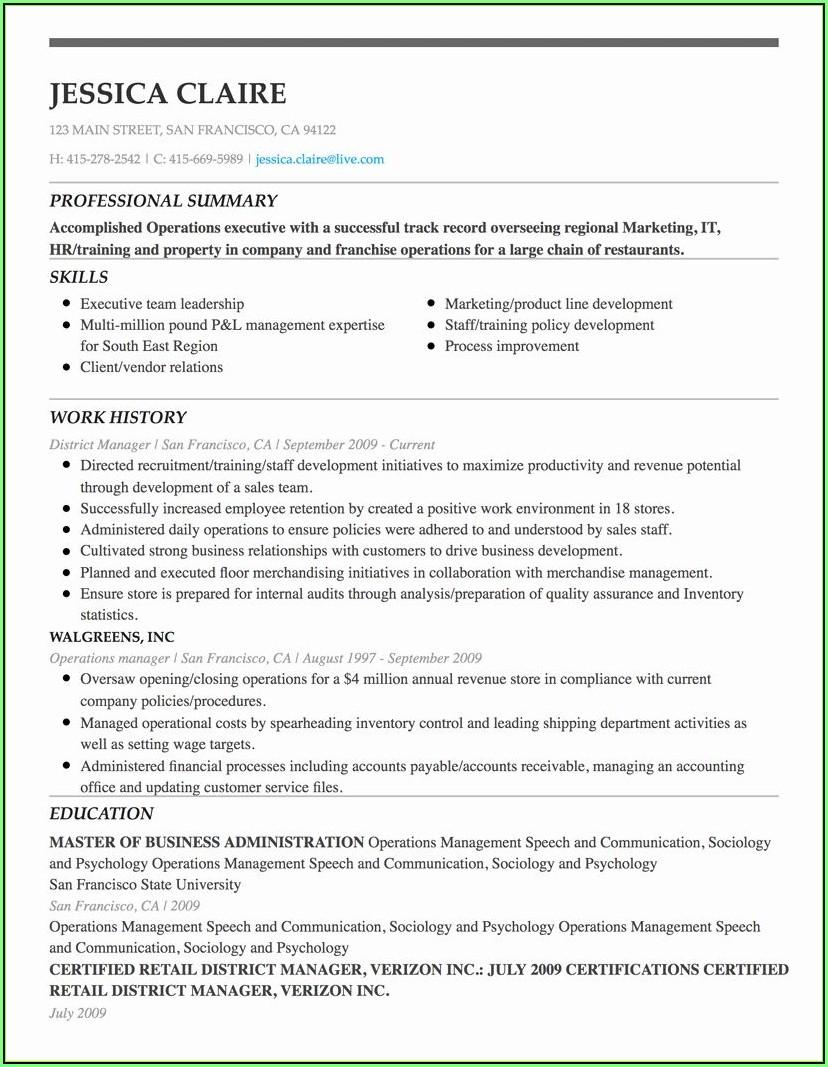 Free Resume Maker Online
