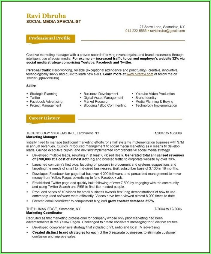 Free Resume Search For Employers Canada