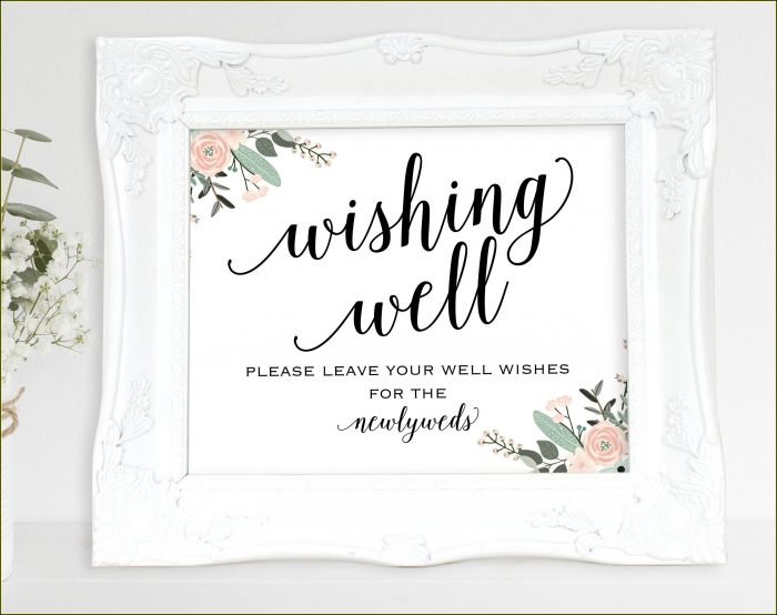 Free Wedding Flip Flop Sign Template