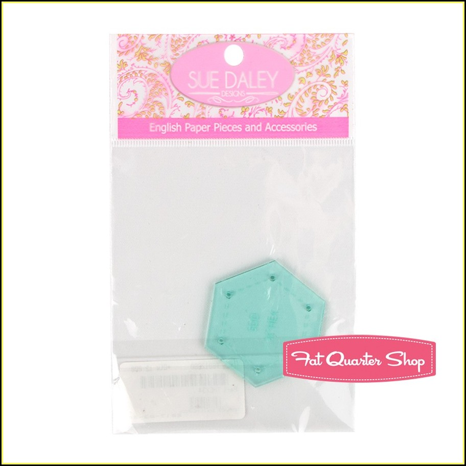 Hexagon Quilt Template Plastic