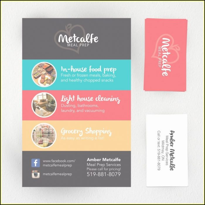 House Cleaning Business Cards Templates Free