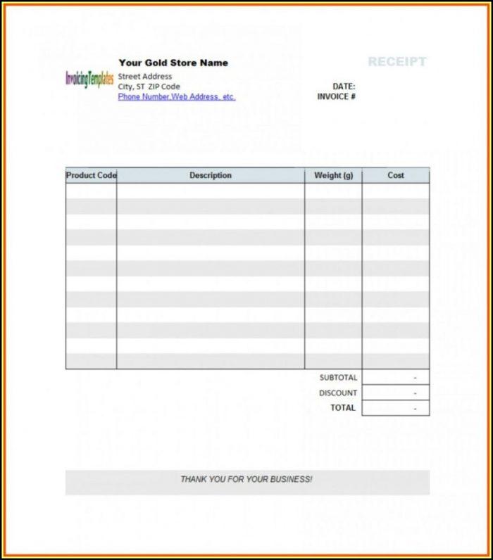 Medical Billing Invoice Template Excel