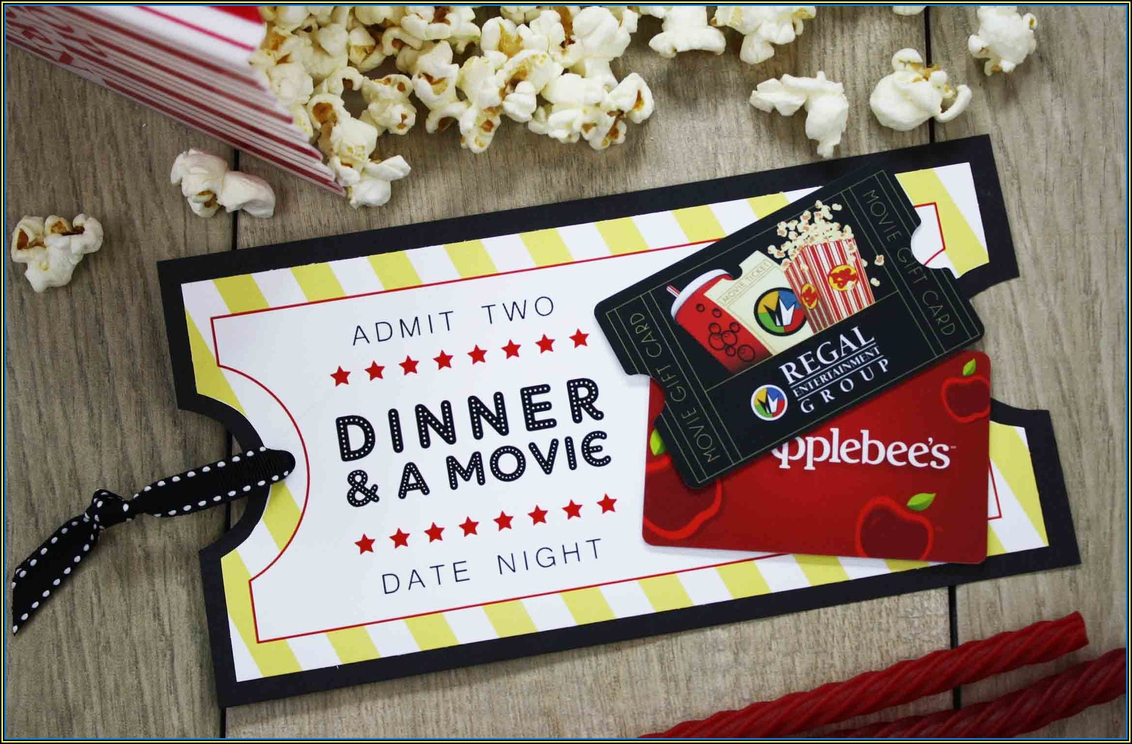 Movie Gift Certificates Templates Free