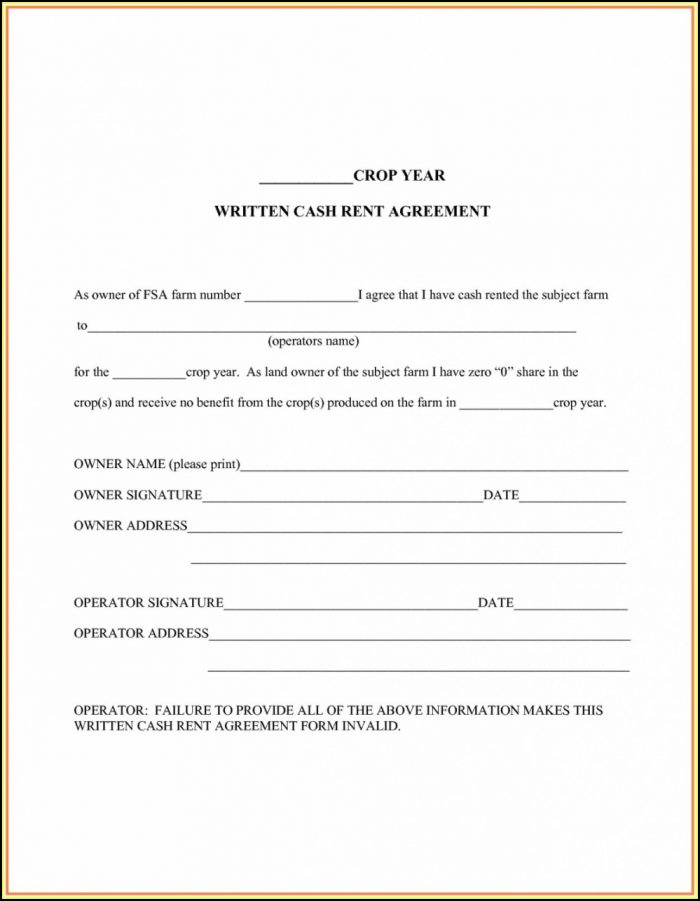 Owner Operator Contract Template
