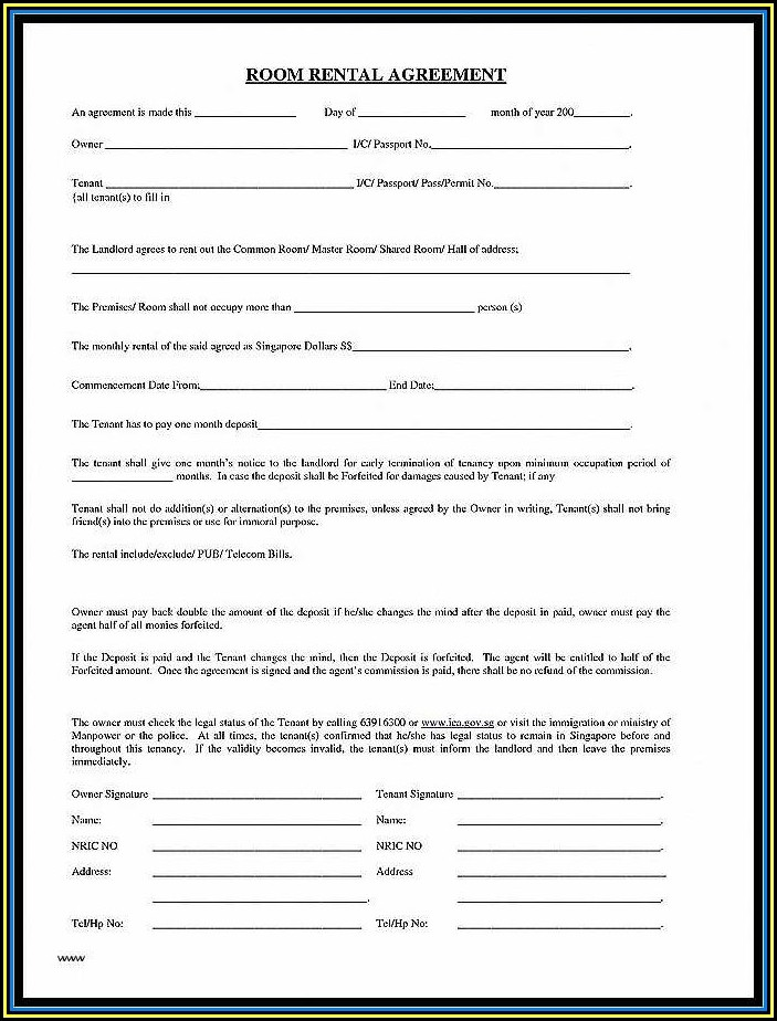 Parking Lot Rental Agreement Template