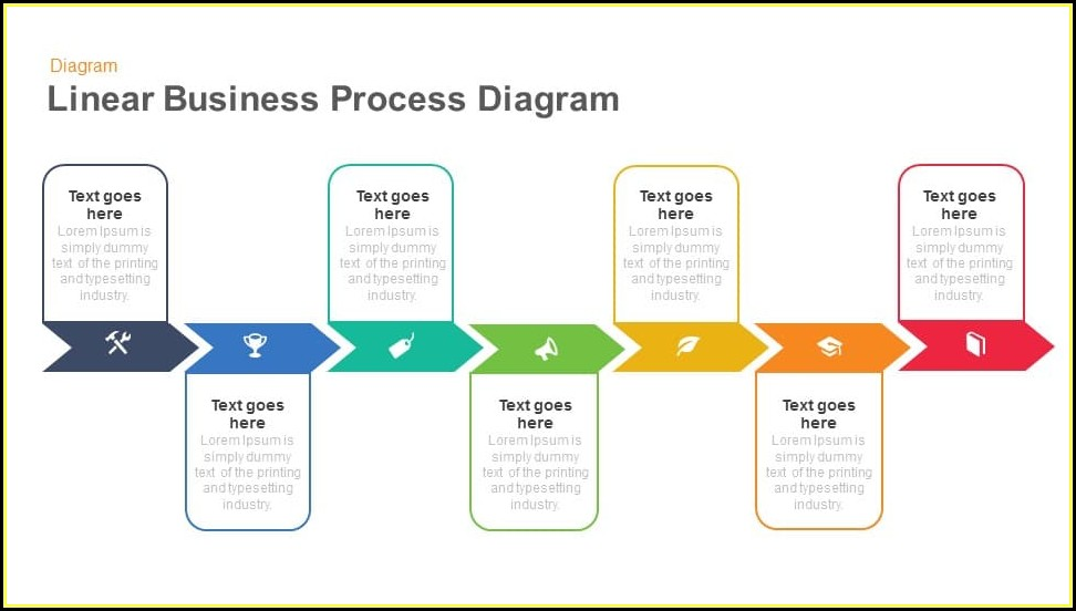 Powerpoint Business Process Flow Template