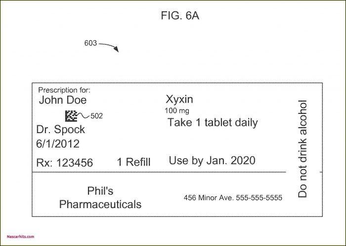 Prescription Pill Bottle Template