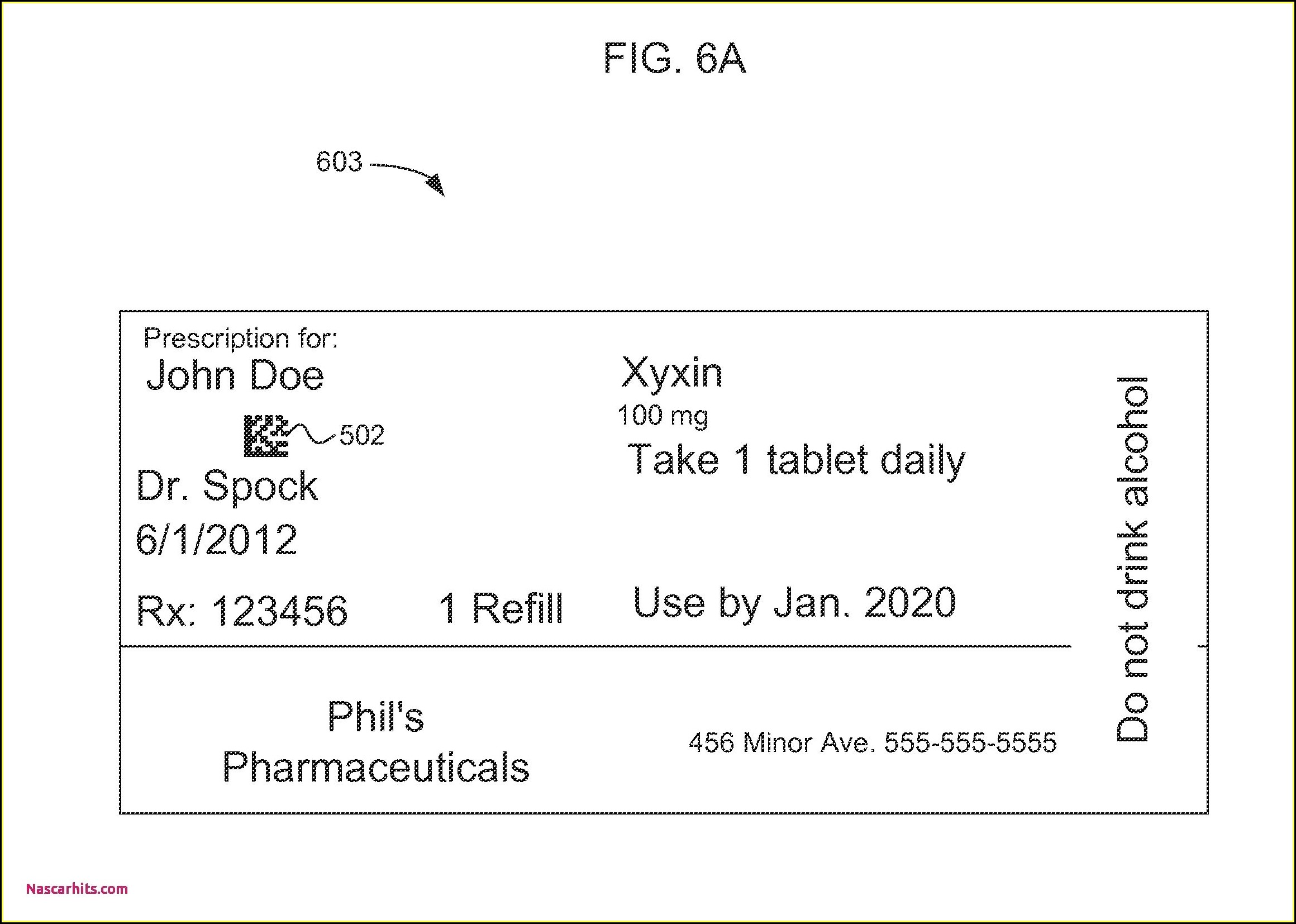 Prescription Pill Bottle Template