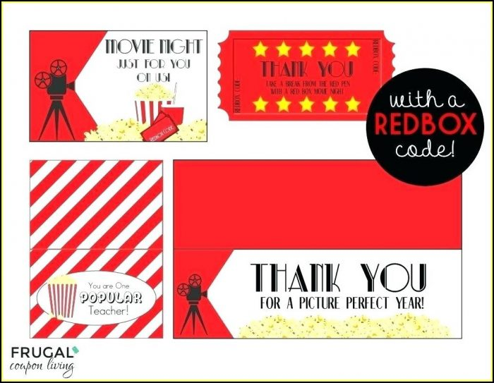 Printable Movie Gift Certificate Template