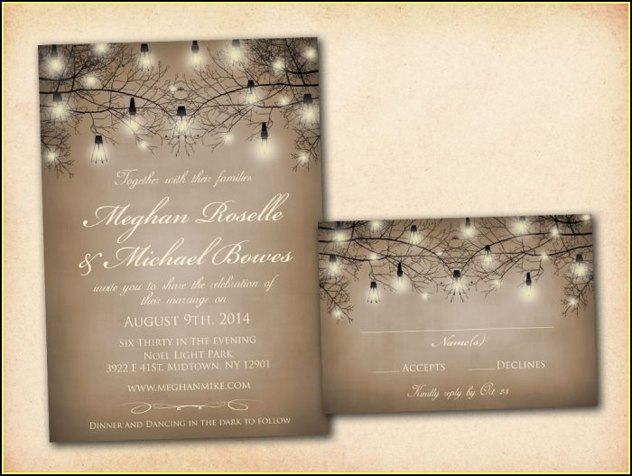 Reception Only Invitation Templates Free
