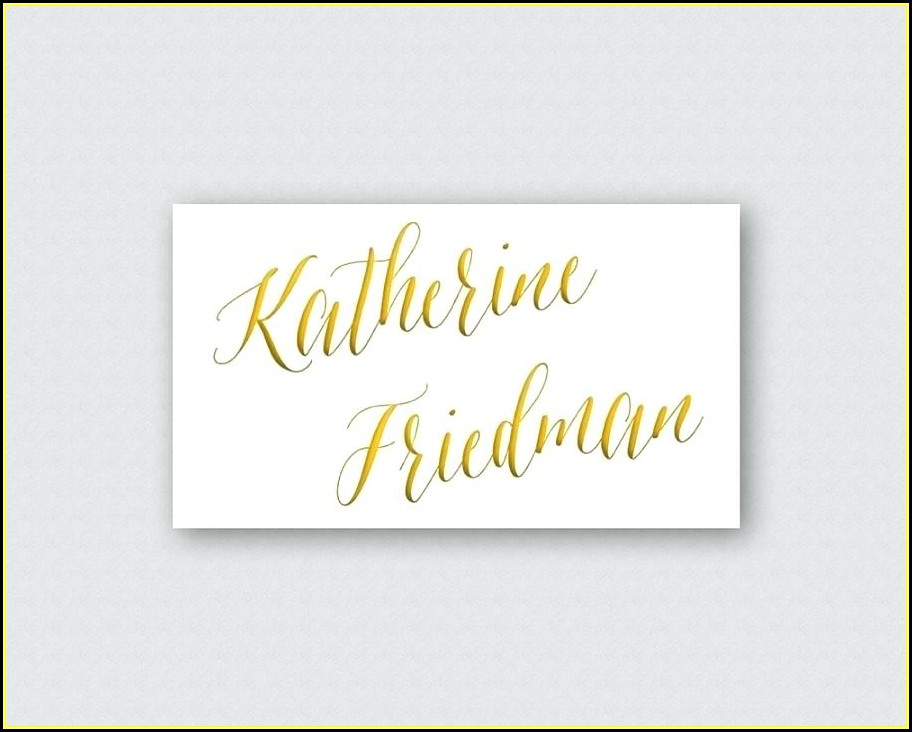 Reception Table Cards Templates