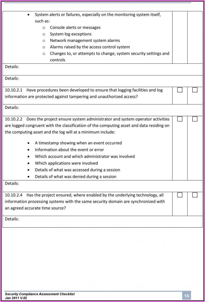 Cyber Security Risk Assessment Examples
