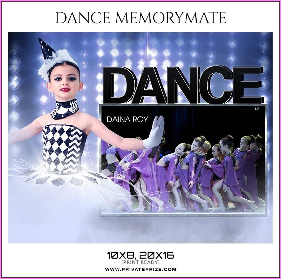 Dance Memory Mate Templates