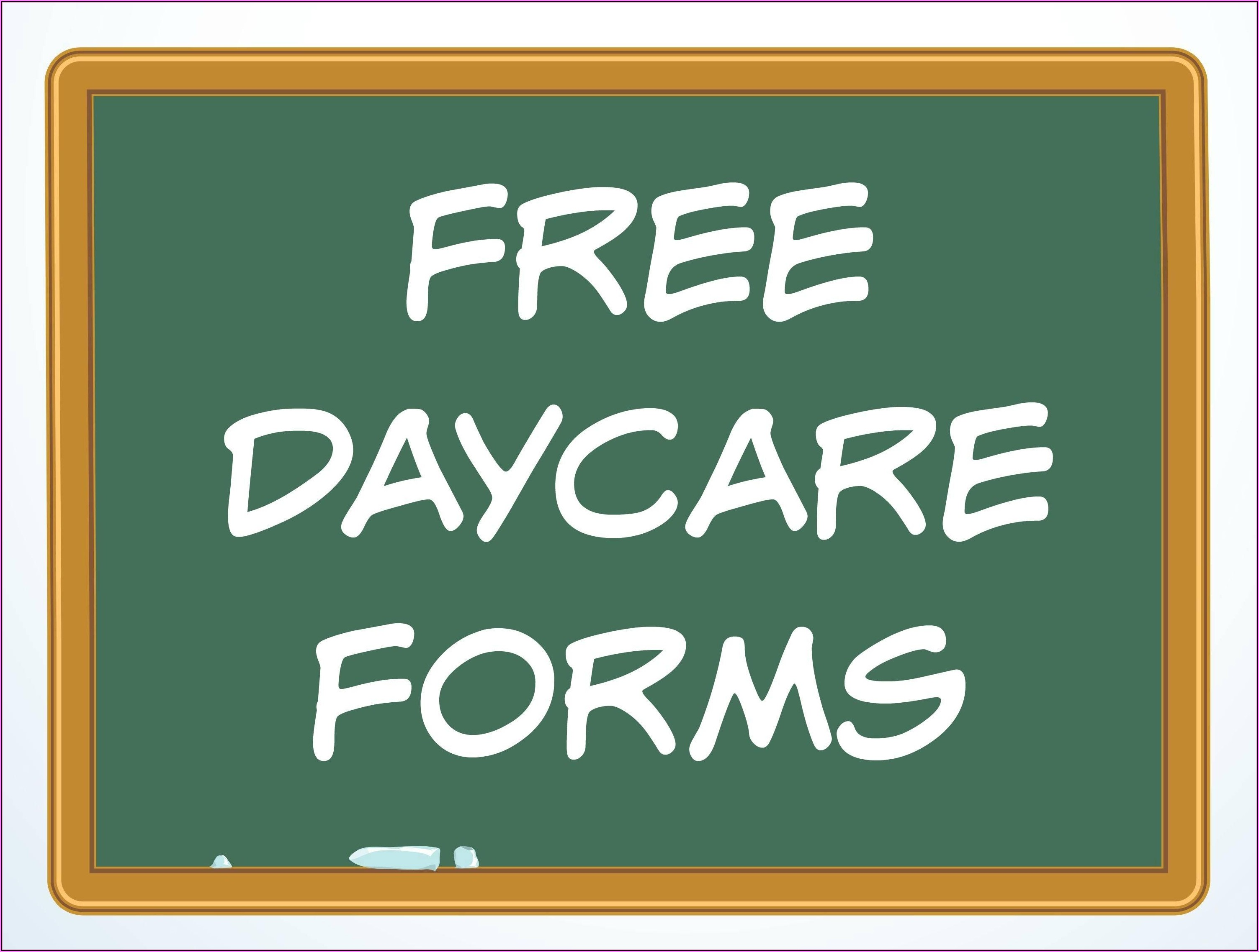 Daycare Center Flyer Templates Free