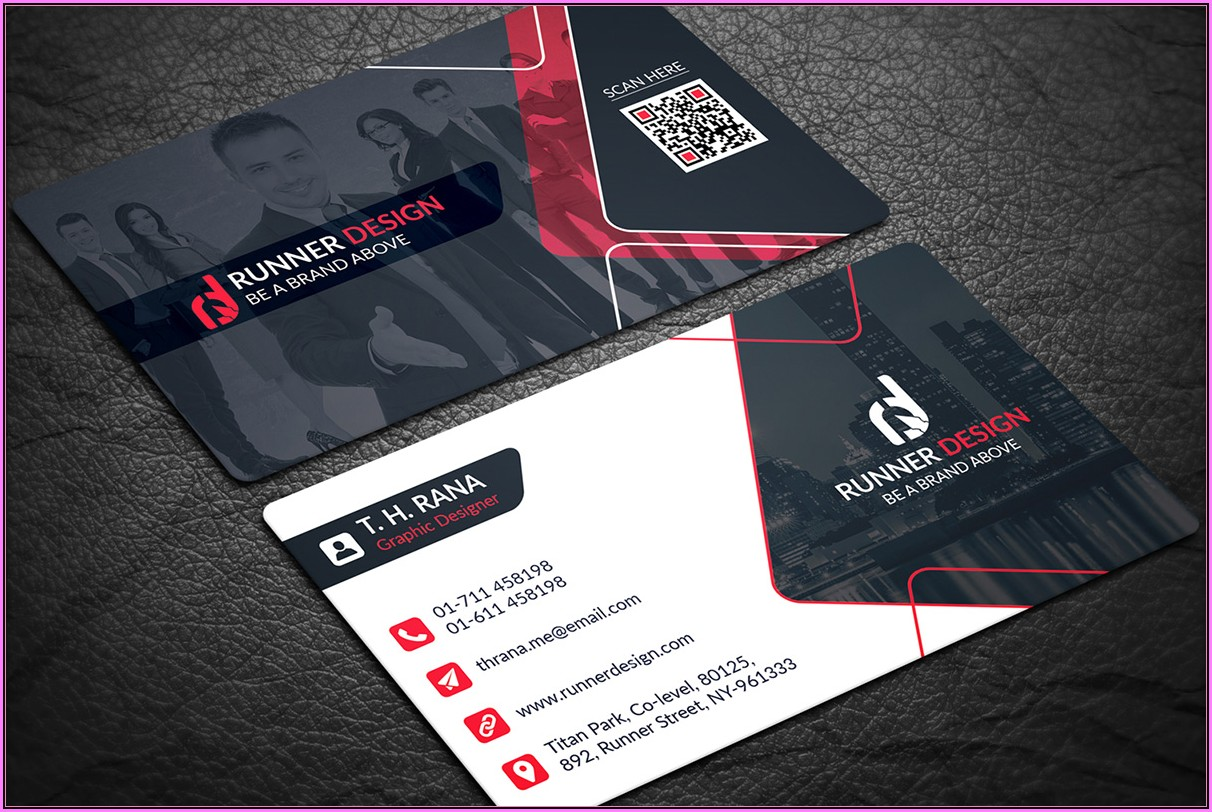 Download Business Card Template Word 2010