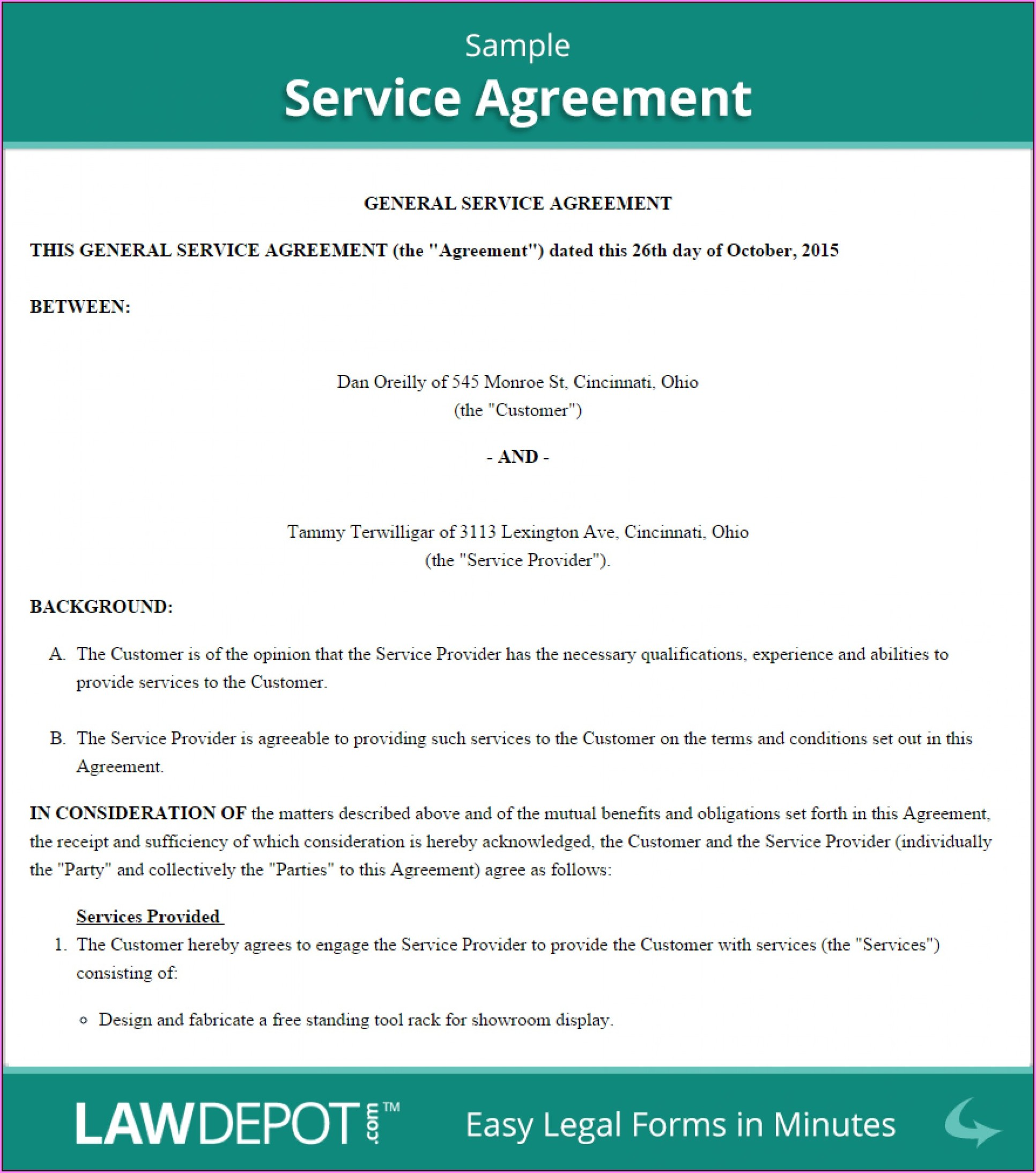 Exclusivity Agreement Template Uk