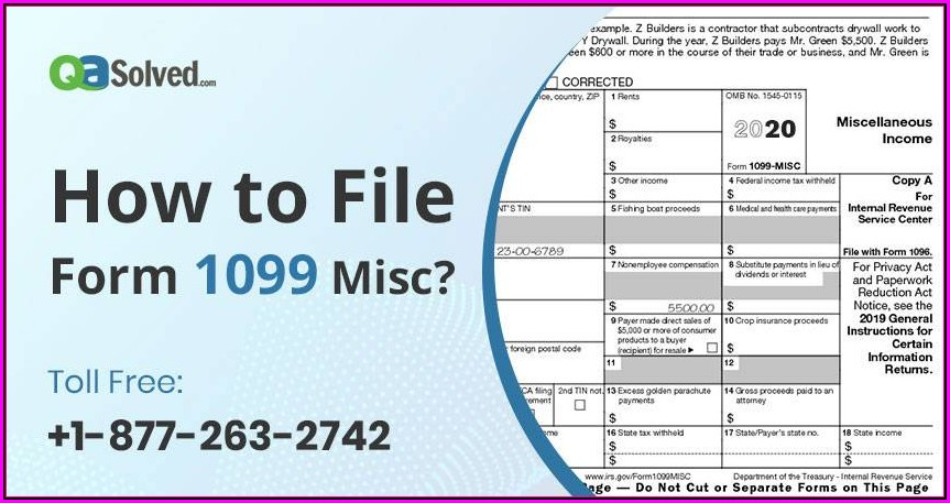 File Form 1099 Misc Online Free