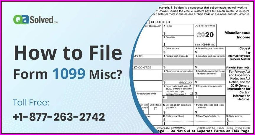 File Form 1099 Misc Online Free