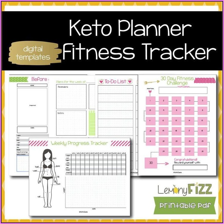 Fitness Journal Template Printable