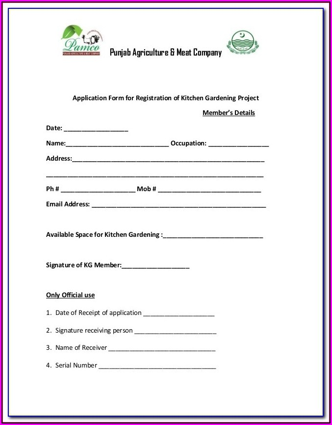 Forms To Register A Nonprofit Organization