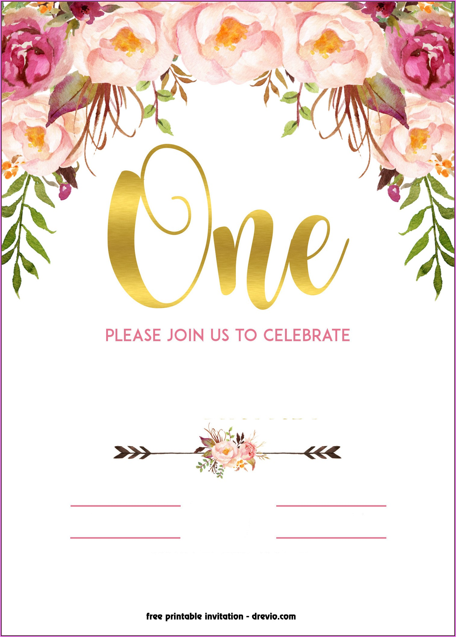 Free 60th Birthday Invitation Templates For Word