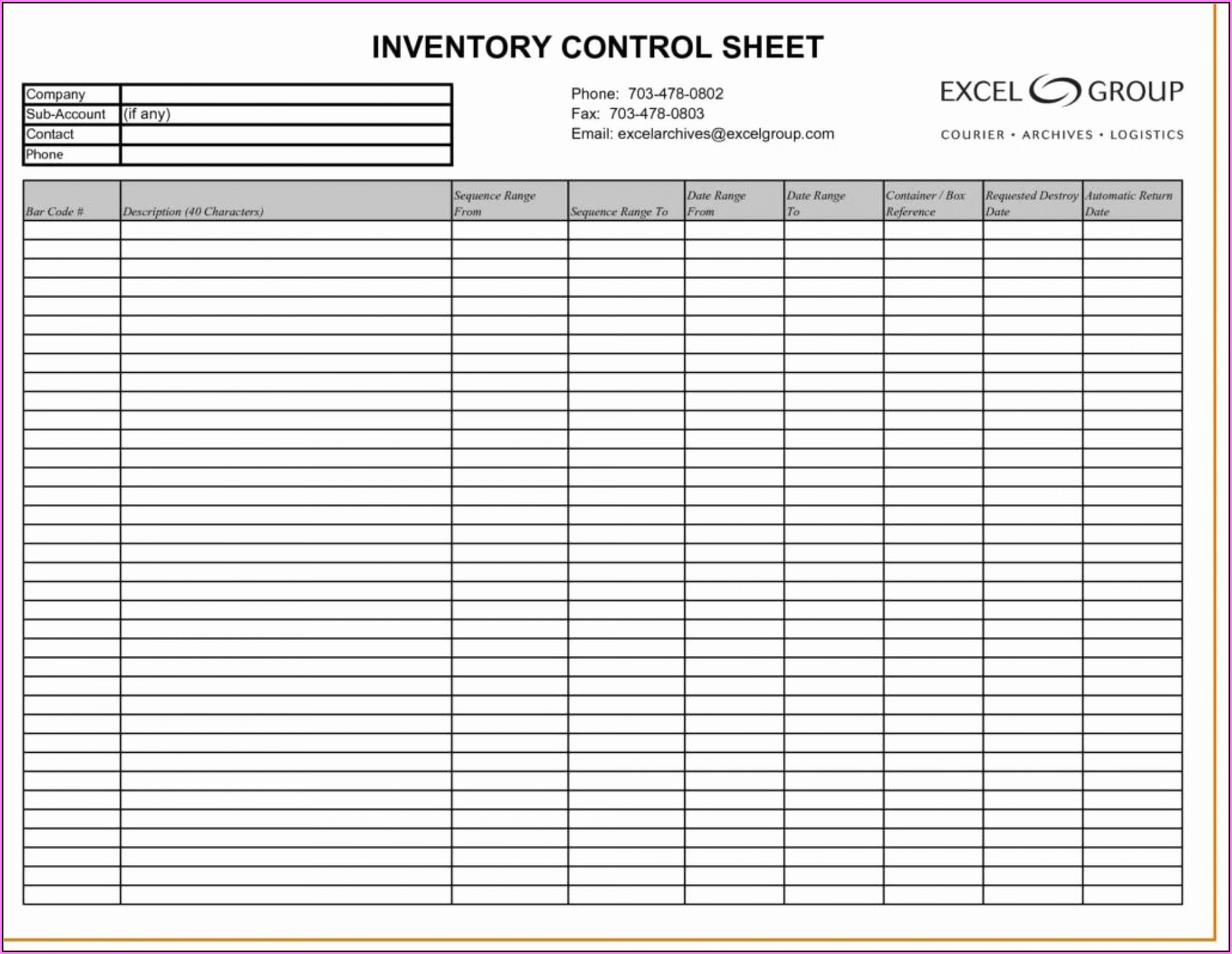 Free Inventory Spreadsheet Template For Mac