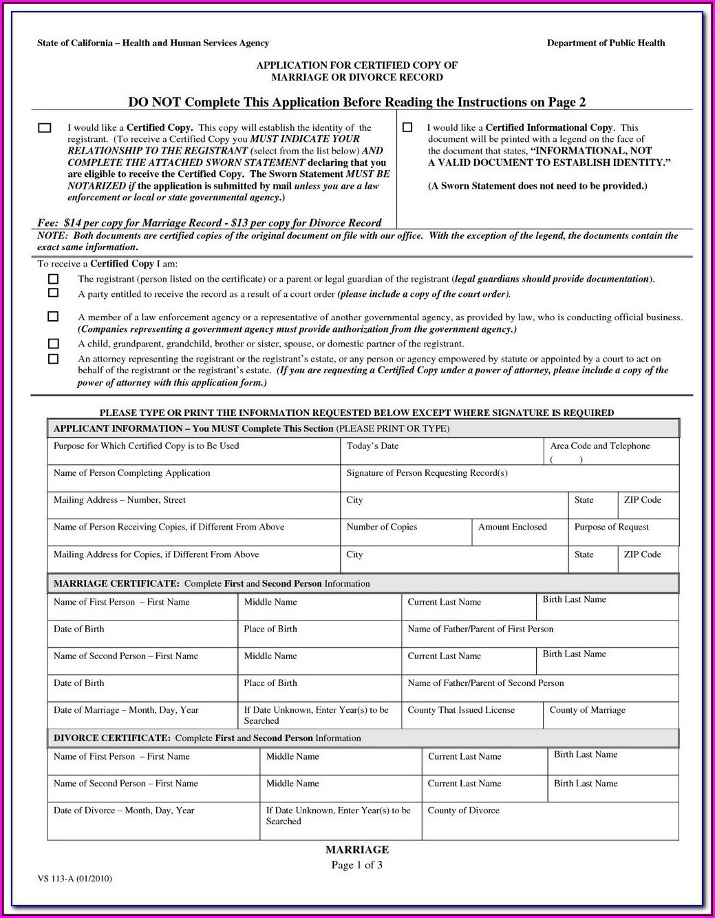 Free Legal Separation Forms New Mexico