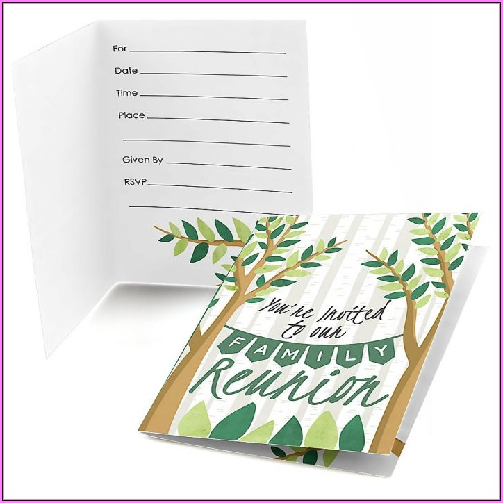 Free Printable Family Reunion Letter Templates