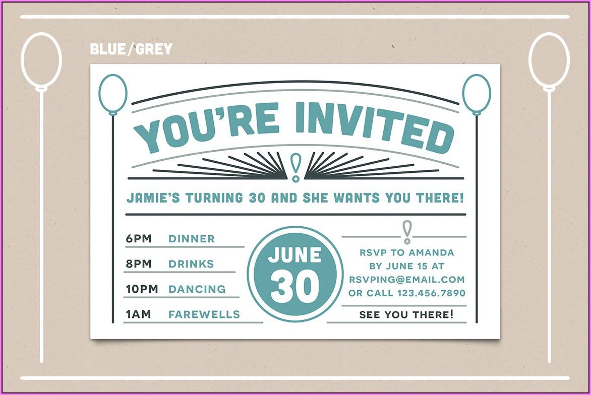 Free Printable Rsvp Postcard Templates