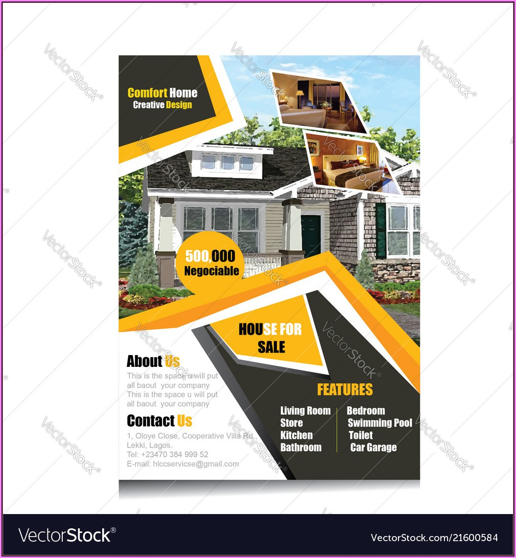 Free Real Estate Flyer Template Download